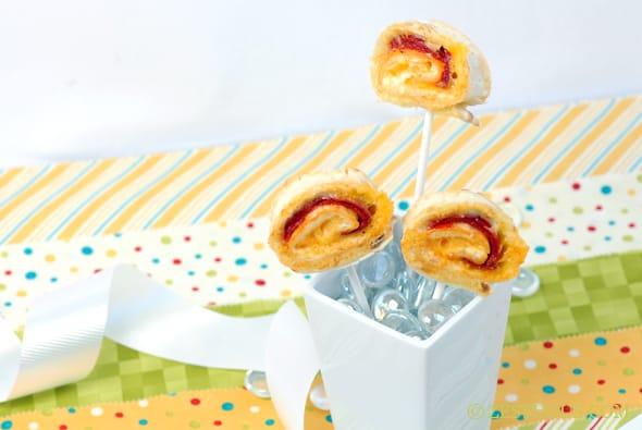 Cheese Lollipops from Zestuous