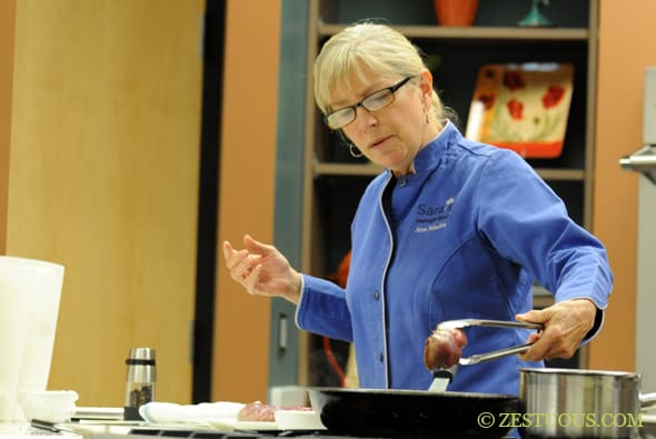 Maple Leaf Farms Duck Cooking Demo with Chef Sara Moulton