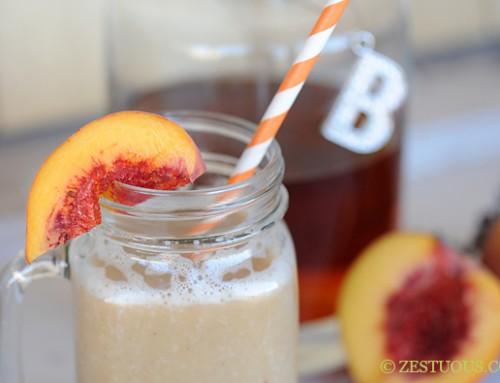 Southern Peach Bourbon Freeze
