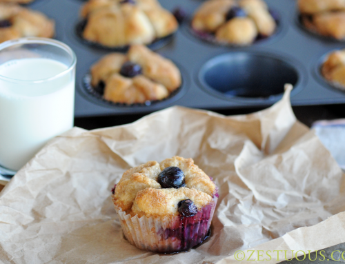 Blueberry Pull-Apart Muffins